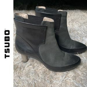 Tsubo Super Treaded Heeled Booties